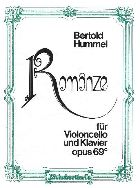 Romanze op. 69c