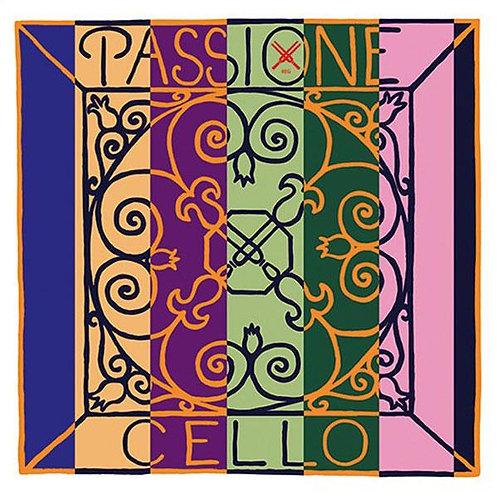 Pirastro Passione Cellosaiten (Stahl) - A & D Einzelsaiten