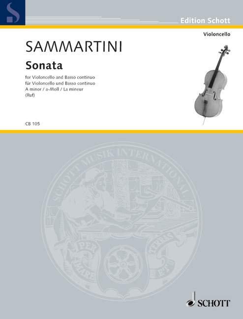 Sammartini: Sonata a-Moll