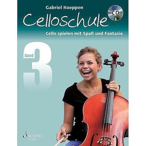 Celloschule. Cello Spielen mit Spass und Fantasie. Band 3 (mit CD)