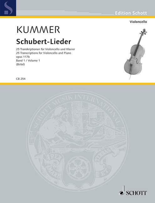Schubert-Lieder op. 117b Band 1