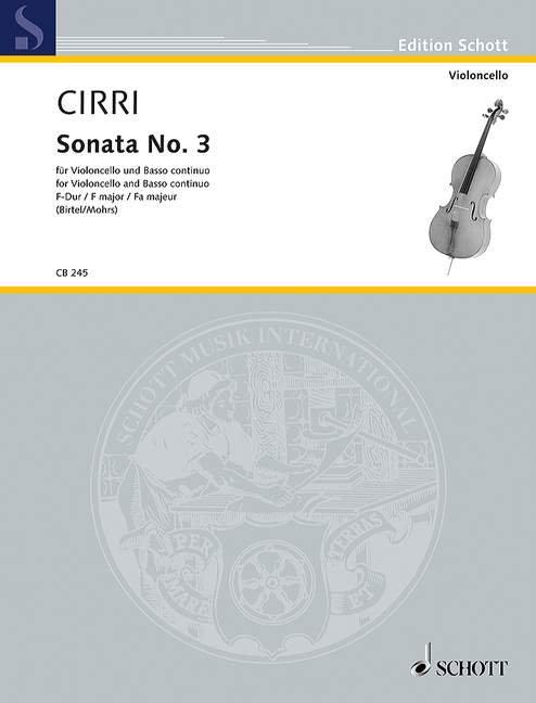 Sonata No. 3 F-Dur