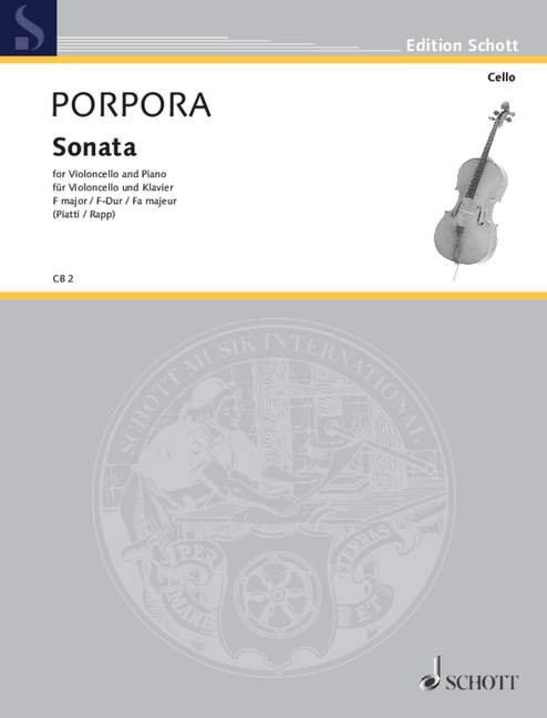Porpora: Sonata F-Dur