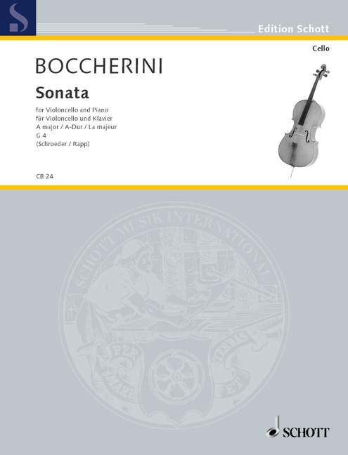 Boccherini: Sonata A-Dur G 4