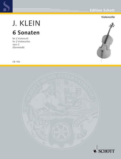Klein: 6 Sonaten op. 2
