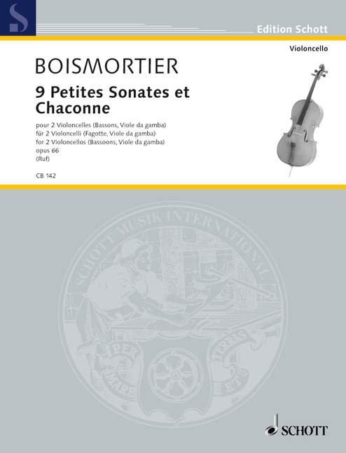 9 Petites Sonates et Chaconne op. 66