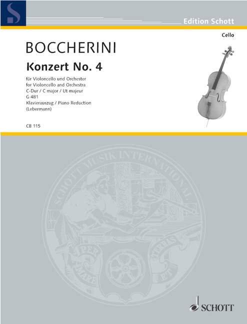 Konzert No. 4 C-Dur G 481