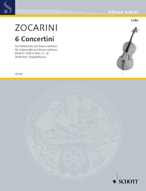 Zocarini: 6 Concertini Band 2