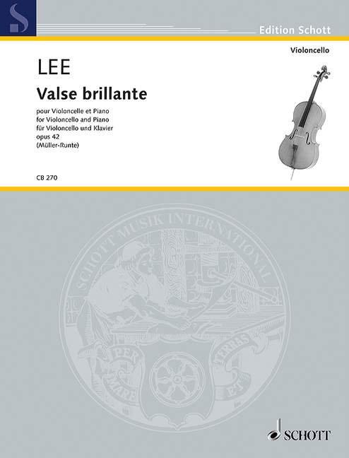 Lee: Valse brillante op. 42