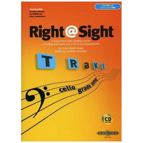 Right@Sight for Cello Grade 1 (+CD)
