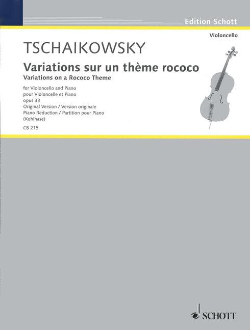 Variationen über ein Rokoko-Thema op. 33 op. 33