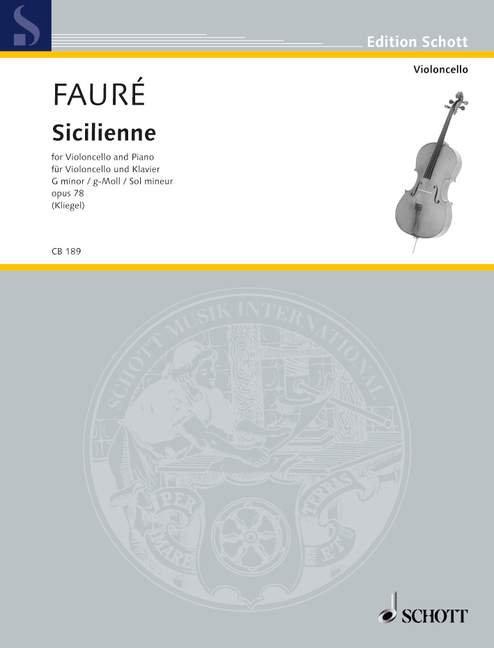 Fauré: Sicilienne op. 78