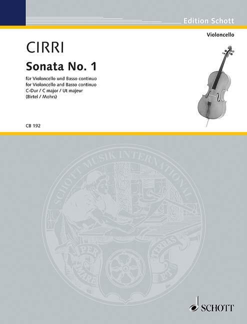 Sonata No. 1 C-Dur
