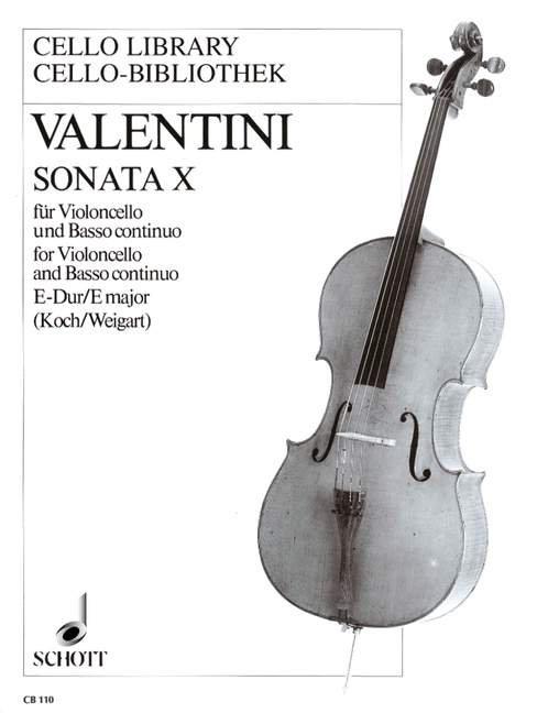 Valentini: Sonata X E-Dur