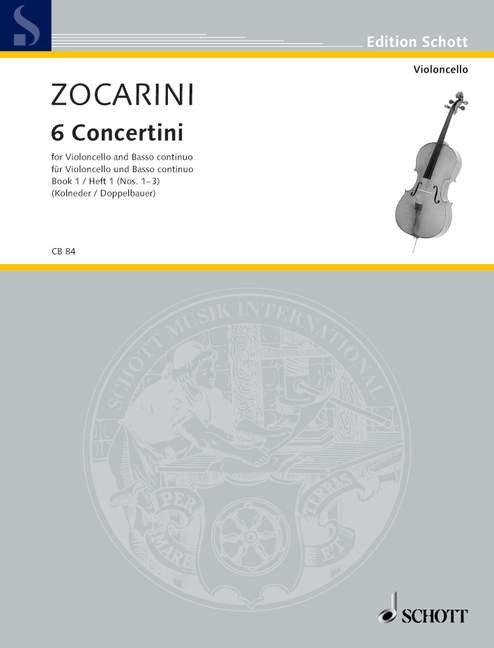 Zocarini: 6 Concertini Band 1