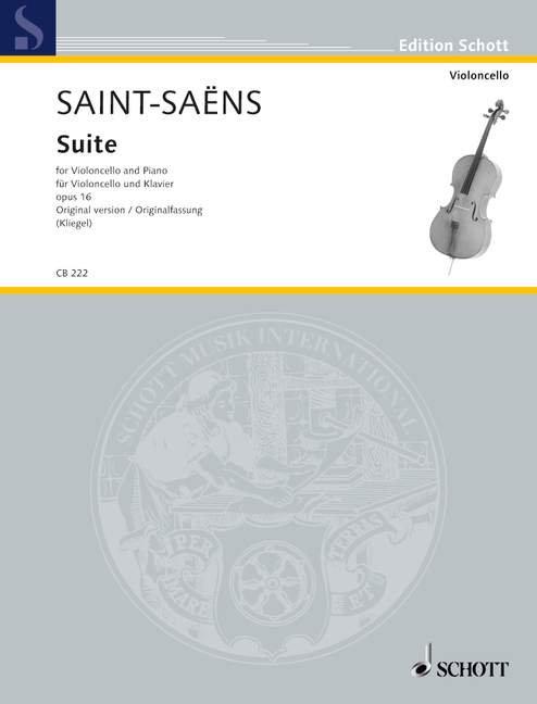 Suite d-Moll op. 16