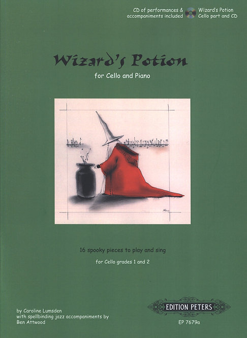 Wizard's Potion for Cello and Piano
