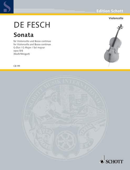de Fesch: Sonata op. 8