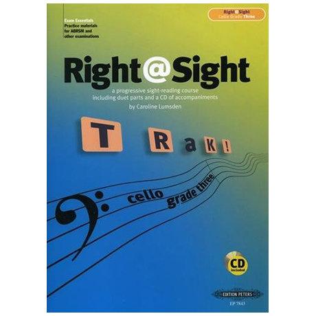 Right@Sight for Cello Grade 3 (+CD)
