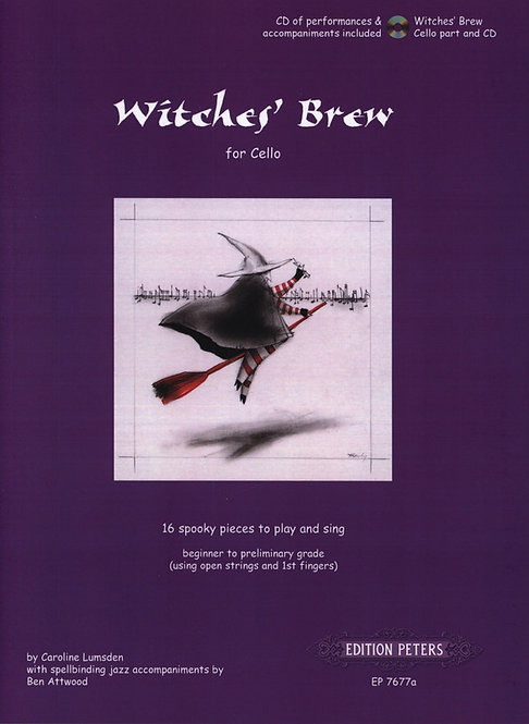Witches' Brew for Cello