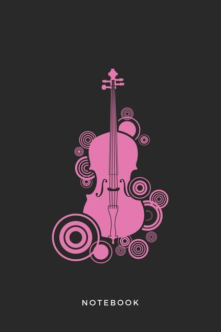 Cello Instrument Art Graphic Notebook