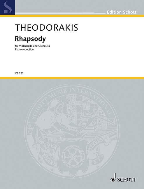 Theodorakis: Rhapsody AST 306