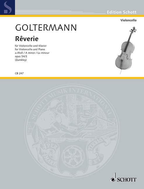 Goltermann: Rêverie a-Moll op. 54/3