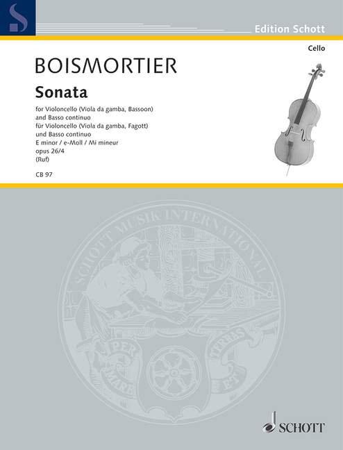 Boismortier: Sonata op. 26