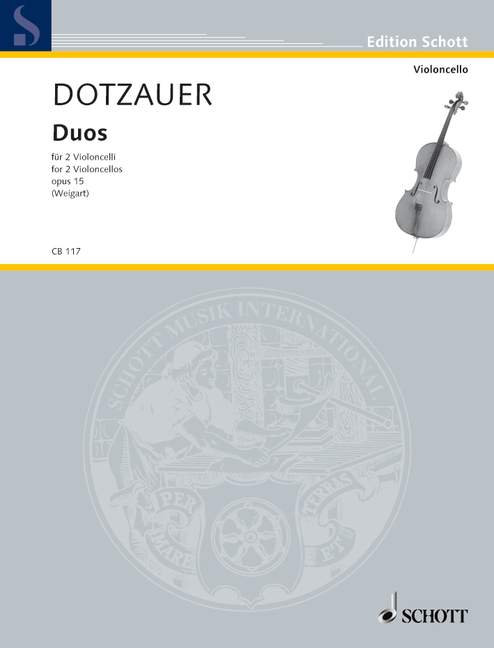 Dotzauer: Duos op. 15