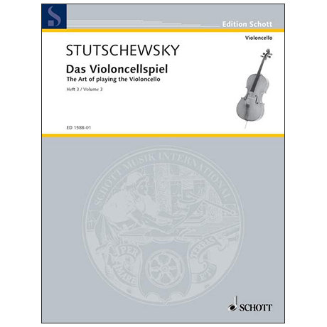 Stutschewsky: Das Violoncellspiel. Band 3