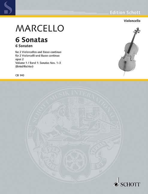 Marcello: 6 Sonatas Vol. 2
