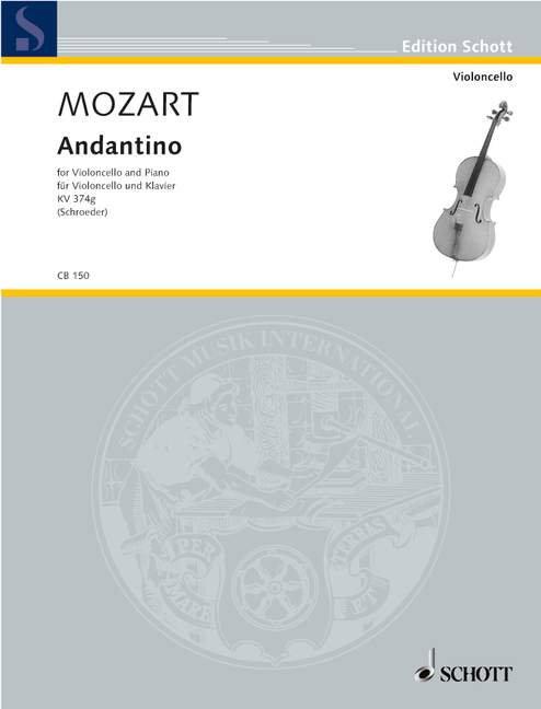 Mozart: Andantino KV Anh. 46 (374g)