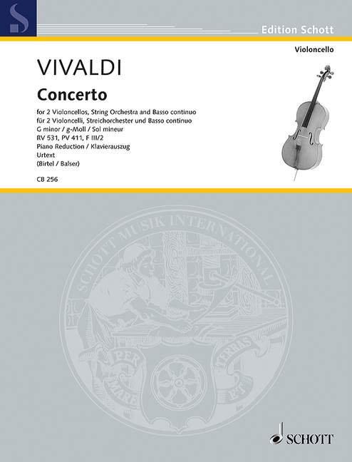 Concerto g-Moll RV 531 PV 411 F III/2