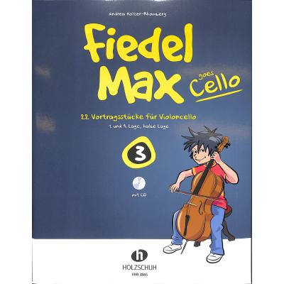 Fiedel-Max goes Cello 4 (mit CD)