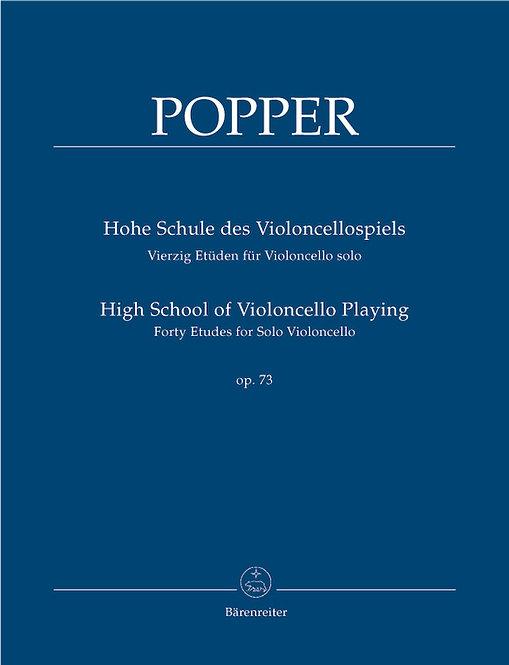 Popper: Hohe Schule des Violoncellospiels op. 73