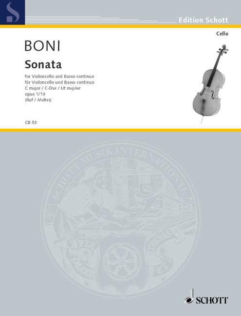 Sonata C-Dur op. 1/10