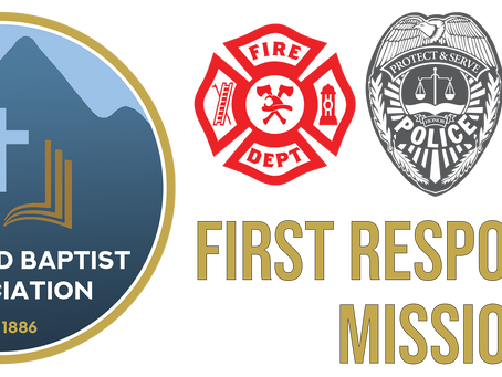Pastors and Church Leaders: Let's join Jesus together on mission to those who protect and serve