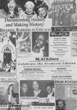 Black Lesbian Archives Chicago Collage 2