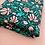 Thumbnail: Teal Floral - Jersey/Cotton Lycra