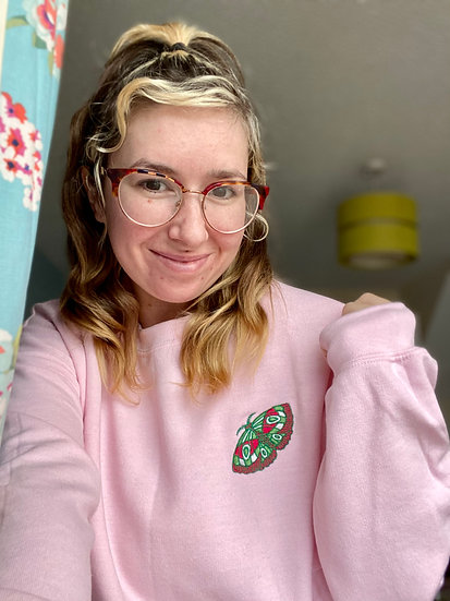 Moth Unisex Sweatshirt