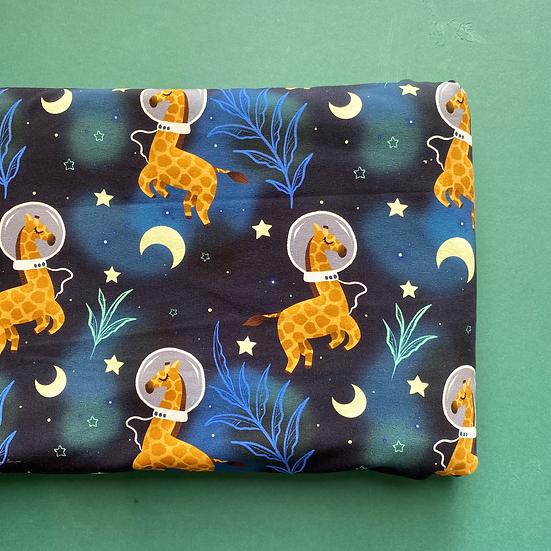 Space Giraffes - Jersey/Cotton Lycra