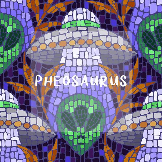 - Alien Mosiac Purple -