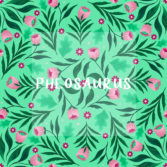 - Floral Mandalas Mint -