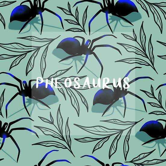 - Spiders Aqua -