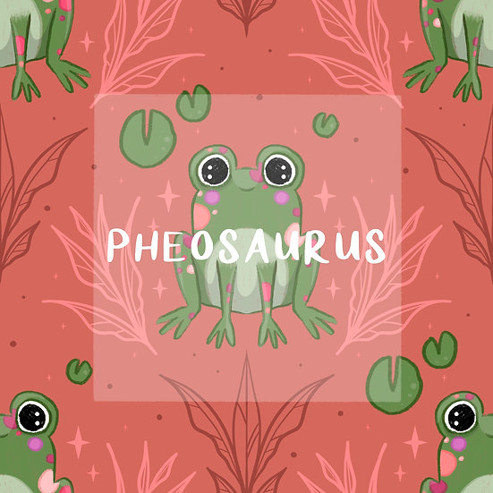 - Ikkle Froggie Pink -