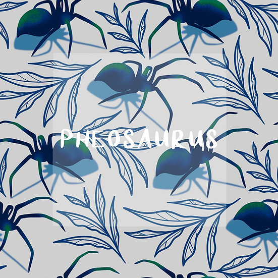 - Spiders Blue -