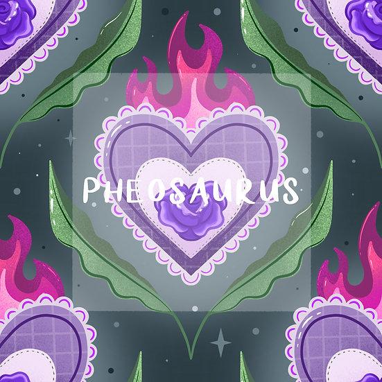 - Burning Desire Purple -