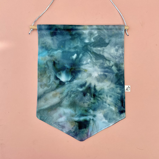 Small Ice Dyed Banner