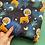 Thumbnail: Space Giraffes - Jersey/Cotton Lycra