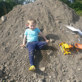 Davitt working his huge quarry.jpg